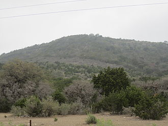 Leakey, Texas - View of the Texas Hill Country in Leakey