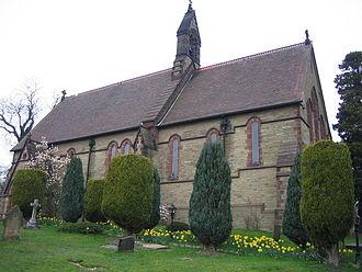 Hints, Staffordshire - Image: Hints Church