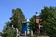 Hirnyky Ratnivskyi Volynska-complex of the church of Saint Demetrius-east view-2.jpg