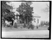 Historic American Buildings Survey, Delos H. Smith, Photographer SOUTH ELEVATION. - St. John's Episcopal Church, State Route 1329, Williamsboro, Vance County, NC HABS NC,91-WILBO,1-1.tif