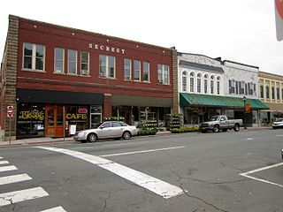 Monroe Downtown Historic District United States historic place