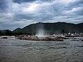 Hogenakkal Falls Approaching.jpg