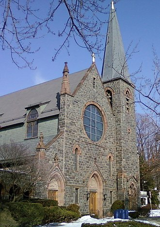 Most Holy Trinity Church, Mamaroneck - Image: Holy trinity 1