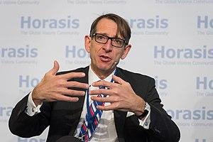 """Frank-Jürgen Richter - Frank-Jürgen Richter at the """"Horasis China Meeting"""", Interlaken, Switzerland."""