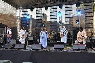 Tamikrest - Tamikrest at Weltmusikfestival Horizonte, Koblenz, 2013