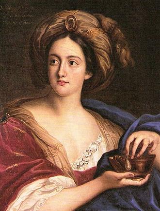 Hortense Mancini - Portrait of Hortense Mancini, duchesse de Mazarin, 17th century