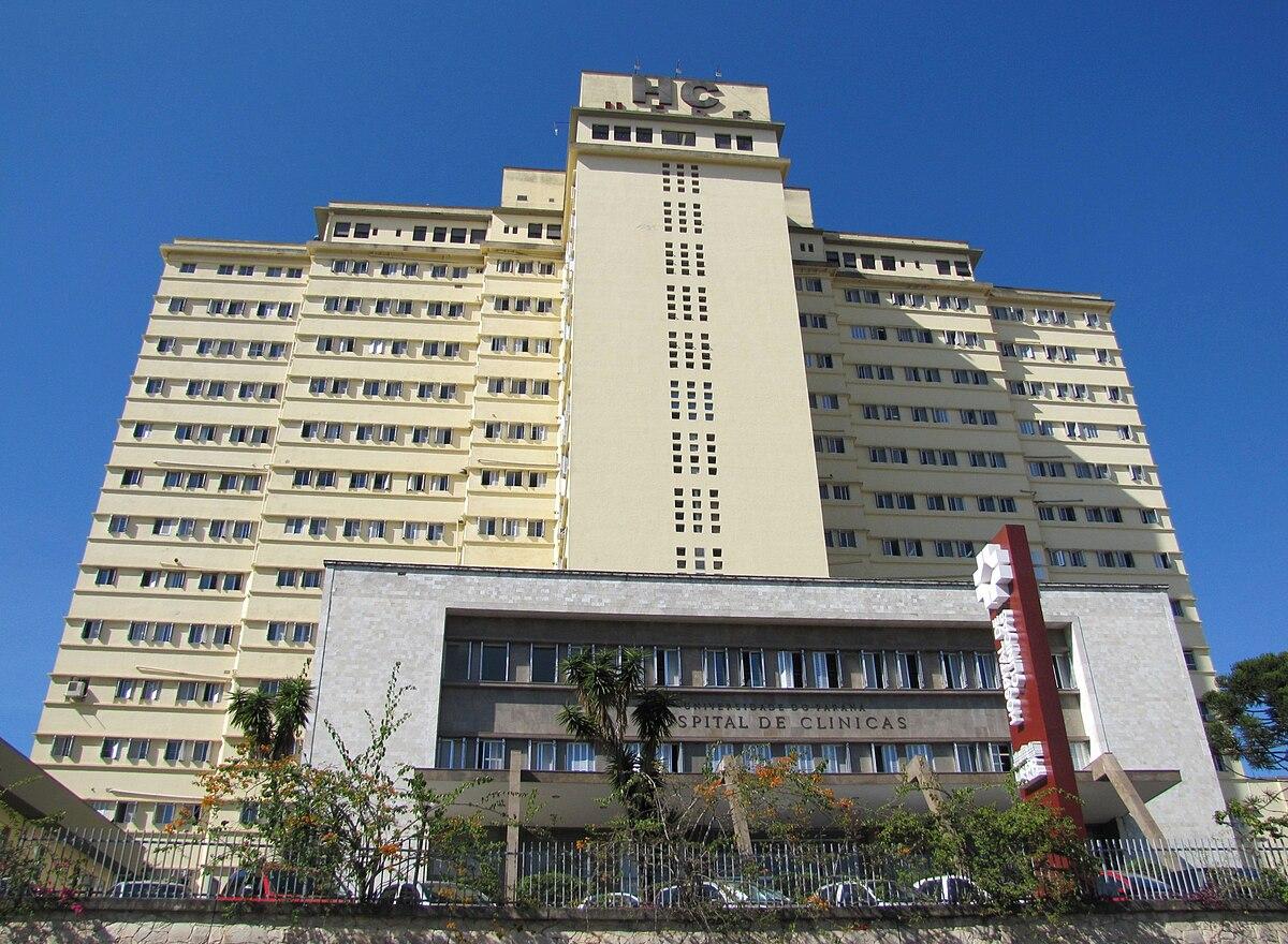 hospital de clínicas da universidade federal do paraná \u2013 wikipédiahospital de clínicas da universidade federal do paraná \u2013 wikipédia, a enciclopédia livre