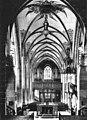 Hospitalkirche - Blick vom Chor ins Schiff 1900er.jpg