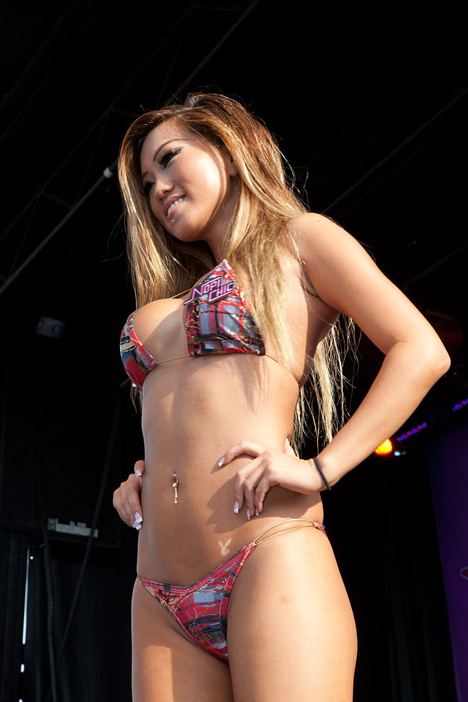 Hot import nights bikini contest