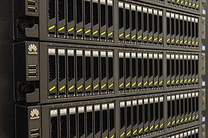 Serial Attached SCSI - Storage servers housing 24 SAS hard disk drives per server