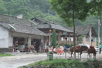 Tujia people - Tujia village in current-day Yichang