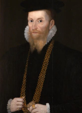 John Acland (died 1553) - Portrait of Hugh Radcliff/Redcliffe of Stepney, Collection of Killerton House, Devon, owned by National Trust