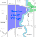 Humber Valley Village map.png