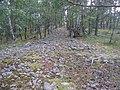 Hummelmoraberget, klapperstensvallar, 2015m.jpg