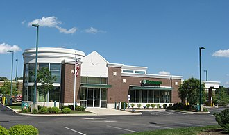 Huntington Bancshares - Huntington Bank location in Springboro, Ohio.