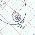 Hurricane Flora surface analysis September 11 1959.jpg