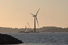 浮体式离岸风力发电