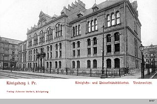 Königsberg State and University Library