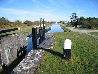 Royal Canal - Royal Canal in rural County Westmeath north of Kinnegad