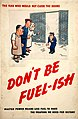 INF3-190 Fuel Economy The man who would not close the doors - don't be fuel-ish (factory interior cartoon) Artist H M Bateman.jpg