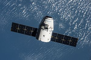 SpaceX CRS-9 - SpaceX Dragon during approach to ISS
