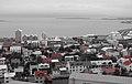 IS - Reykjavik - Red - Hallgrímskirkja - Cutout (4889895207).jpg