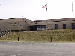 Indian Creek High School in Trafalgar