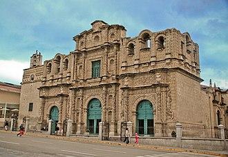 Cajamarca - Image: Iglesia Santa Catalina, Cajamarca