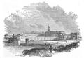 Illustrirte Zeitung (1843) 05 004 1 Aeußere Ansicht des Pentonville-Gefängnisses.PNG