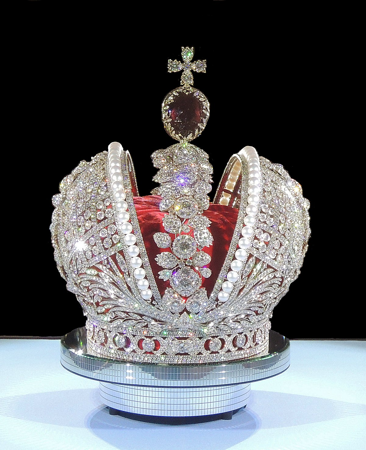 Imperial Crown Of Russia Wikipedia