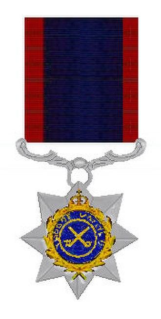 Indian Order of Merit - Image: Indian Order of Merit 1944