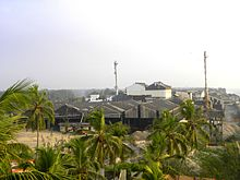 Indian Rare Earths Limited at Kovilthottam in Kollam, Nov 2016.jpg