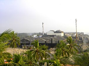 Indian Rare Earths - IRE centre in Kollam, Kerala