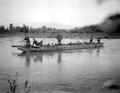 Infanterie Aare durch Kriegsbrücken - CH-BAR - 3236397.tif