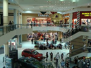 Spatial mismatch - Suburban shopping malls took employment out of the inner city.