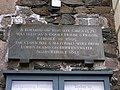 Inscription stone, PUPs Clock building - geograph.org.uk - 1529692.jpg