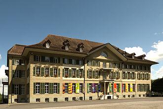 Münchenbuchsee - Image: Institutsgebäude Hofwil Münchenbuchsee 1
