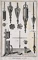 Instruments of mining equipment. Etching by Bénard after Gou Wellcome V0023515EL.jpg