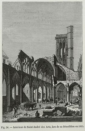 Image illustrative de l'article Église Saint-André-des-Arts