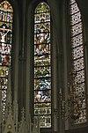 interieur koor, overzicht glas in loodramen - lith - 20334110 - rce
