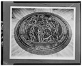 Interior,medallion in center of main lobby floor - Houston City Hall, 901 Bagby Street, Houston, Harris County, TX HABS TEX,101-HOUT,5-8.tif