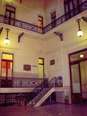 Interior Casa de la Cultura Buenos Aires La Prensa