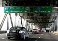 Interstate 5 southbound at Interstate 405 in Portland.jpg