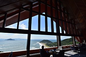 Atsumi Peninsula - View of Cape Irago from Irako View Hotel