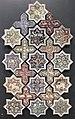 Iran, mattonelle stellate e cruciformi, 1266-67, 01.JPG