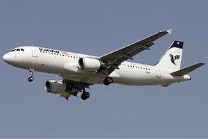 Iran Air Airbus A320 Talebzadeh