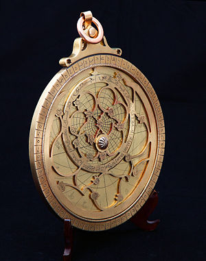 Astrolabe - A modern astrolabe made in Tabriz, Iran in 2013.