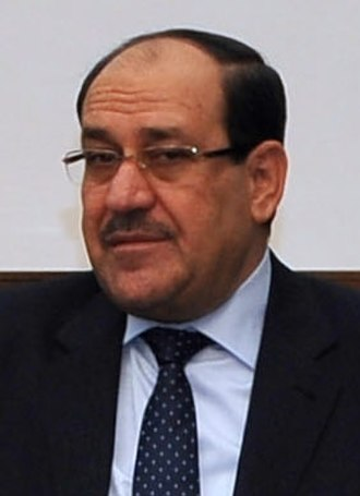 2014 Iraqi parliamentary election - Image: Iraqi Prime Minister al Maliki June 2014 (cropped)