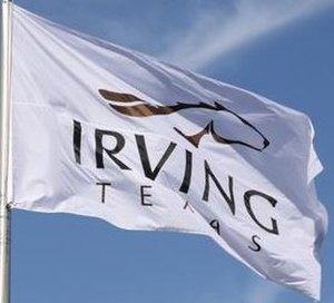 Irving, Texas - Image: Irving Tx Flag