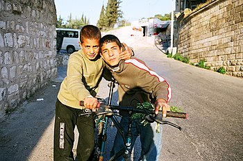 Israel 1 036 Little palestinensic boys